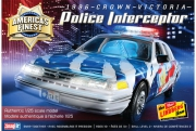America's Finest Crown Victoria Police Cruiser 1/25