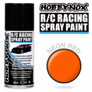 Neon Röd R/C Racing Car Spray Färg 150 ml