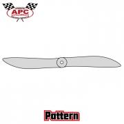 Propeller 14.4x14 Pattern