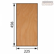 Aircraft Birch Plywood 0.8 x 225 x 456 mm 3-ply