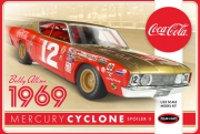 Bobby Allison 1969 Coca Cola Mercury Cyclone 1/25