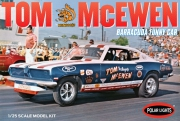 "Tom ""Mongoose"" McEwen 1969 Barracuda Funny Car 1/25"