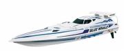 Blue Whale vit båt