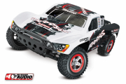 Slash 2WD 1/10 RTR TQ OBA Vit med Batteri/Laddare