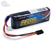 Li-Po TX/RX-ack 7.4V 2200