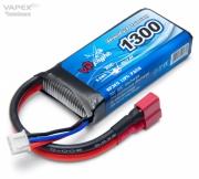Li-Po Batteri 2S 7,4V 130