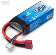 Li-Po Batteri 3S 11,1V 13