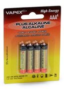 Alkaline Plus Batteri AAA 4-pack
