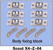 Fixeringsblock till kropp