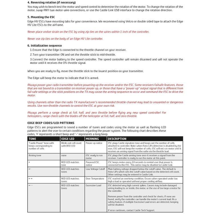 PHOENIX EDGE LITE HV 40 - 50V 40A ESC