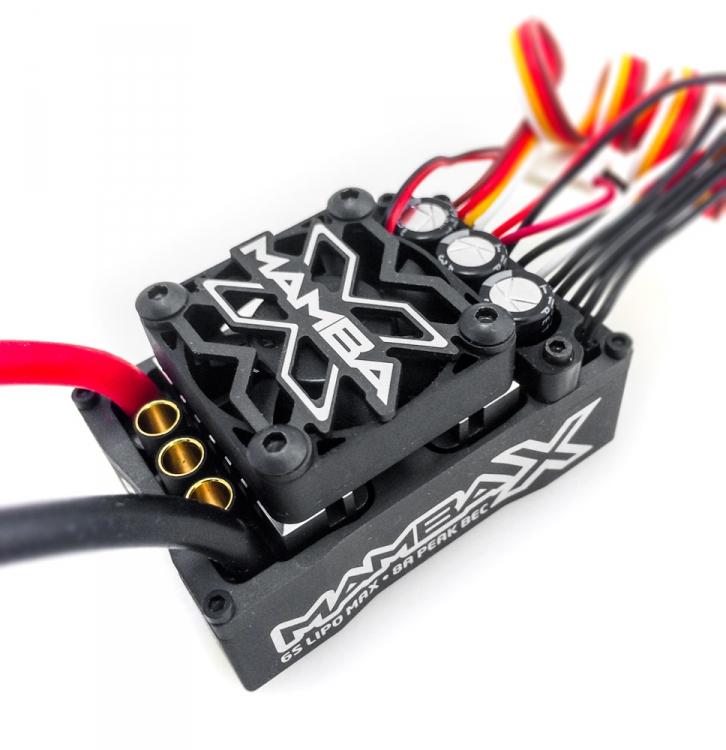 Castle Creations Mamba X 1//10 Sensored 25.2V Waterproof ESC /& 1406-6900KV Motor