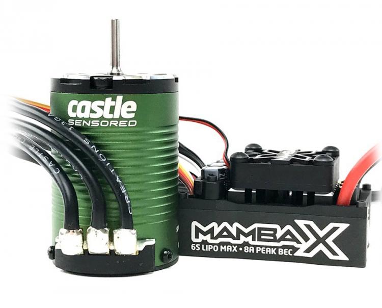 Mamba X SCT ESC Combo med 1410-3800KV Sensormotor