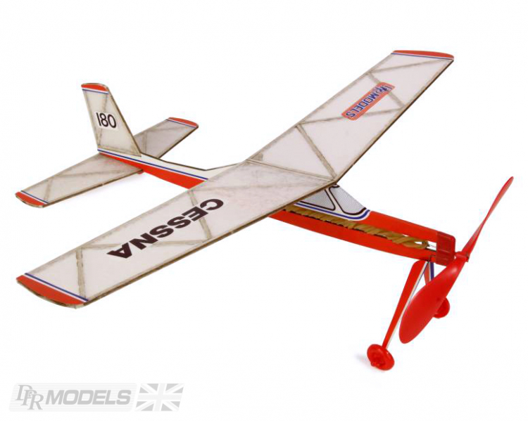Cessna 180 Rubber Powered Balsa kit DPR Models