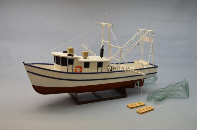 Rusty the Shrimp Boat 914mm Träbyggsats
