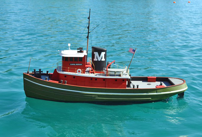 Carol Moran Tug Boat 1270mm Wood Kit