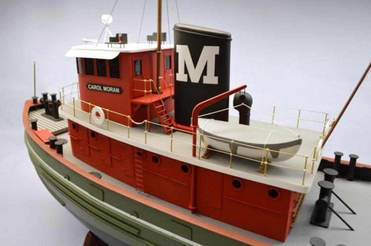 Carol Moran Tug Boat 1270mm Wood Kit