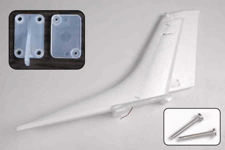 Rudder to Cessna 182 Red