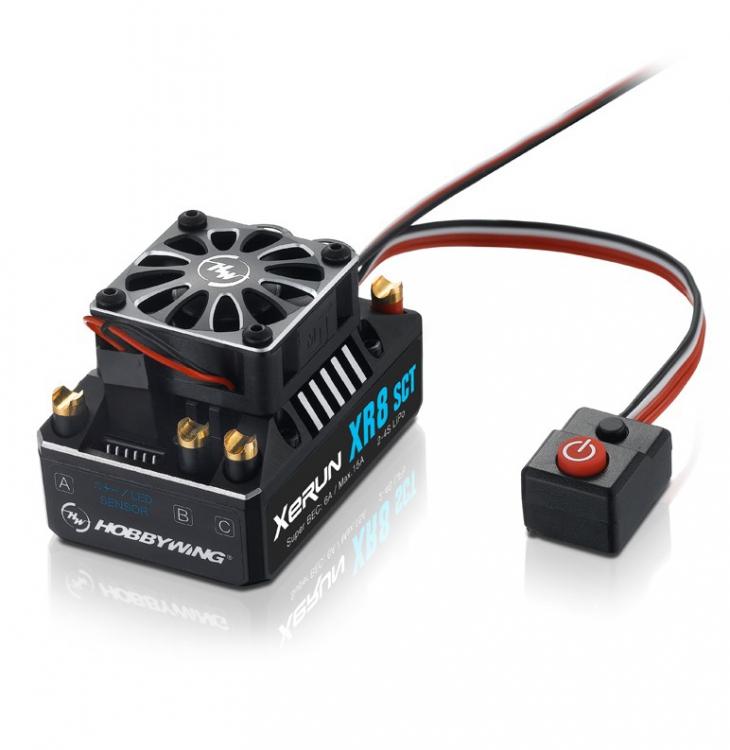 HobbyWing 4 Capacitors Module for XERUN Series Car ESC
