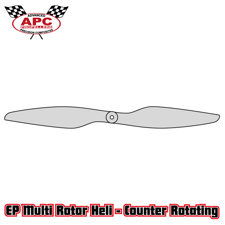 APC 9x4.5 Multi-Rotor Pusher Propeller Blades LP09045MRP