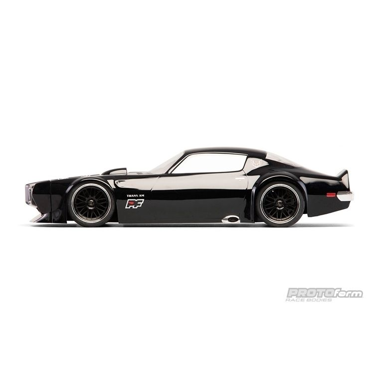 1971 pontiac firebird trans am clear body