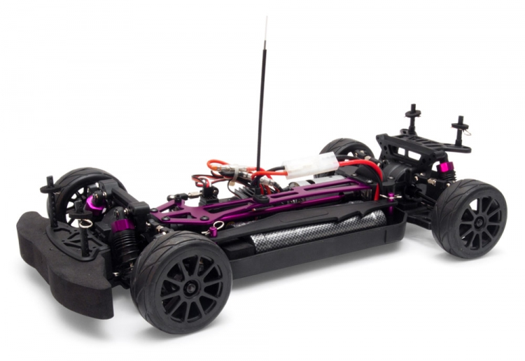 1 10 Polestar S60 Stcc 4wd Racing Car Rtr Brushed