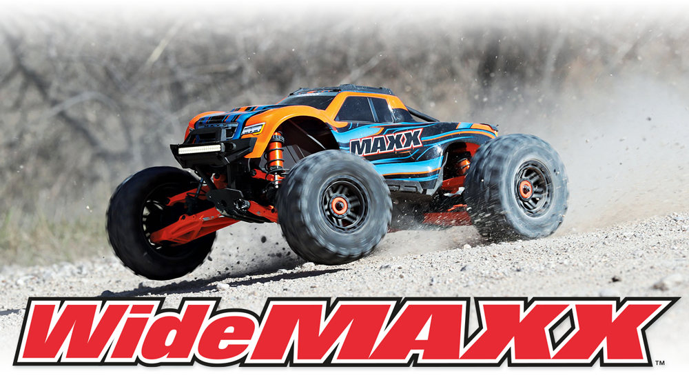 WideMAXX Conversion Set for Traxxas MAXX
